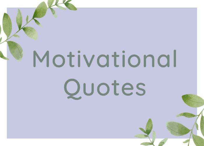Motivational Quotes in English for Success